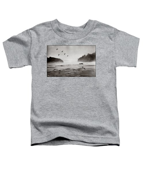 Geese Over Great Bay Toddler T-Shirt