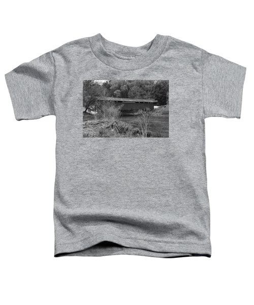 Geiger Covered Bridge B/w Toddler T-Shirt