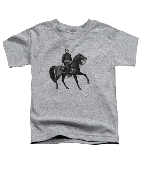 General Grant On Horseback  Toddler T-Shirt