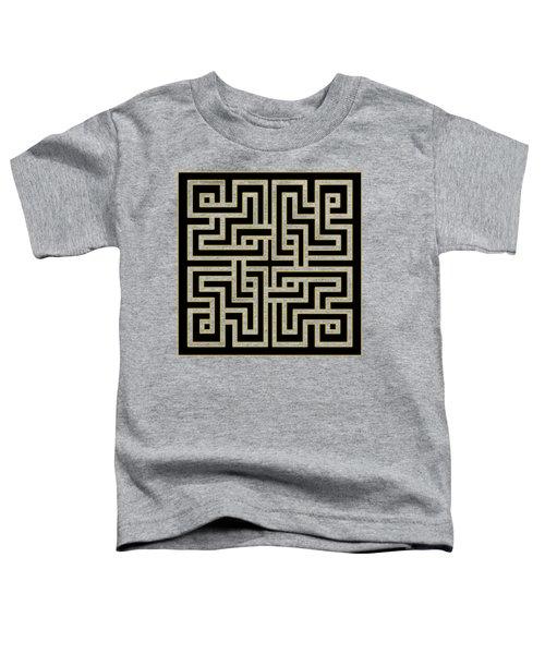 Geo Pattern 5 - Transparent Toddler T-Shirt