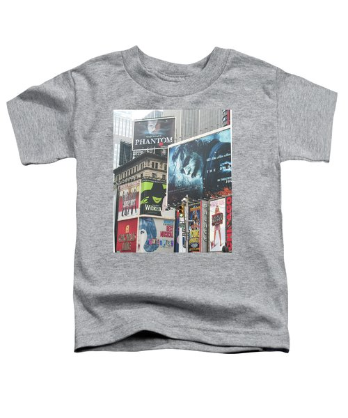 George M Toddler T-Shirt by David Jaffa