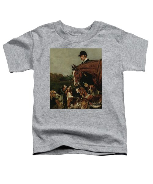 George Wateridge, Huntsman To The New Forest Buckhounds Toddler T-Shirt