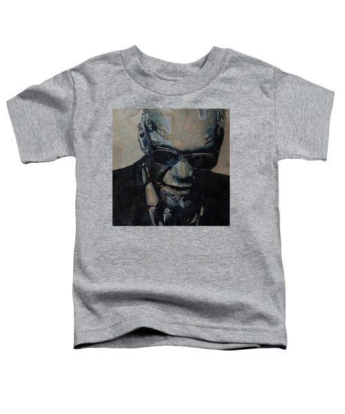 Georgia On My Mind - Ray Charles  Toddler T-Shirt
