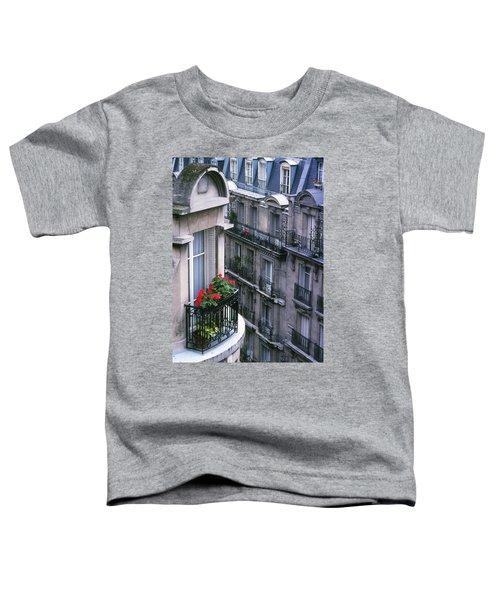 Geraniums - Paris Toddler T-Shirt