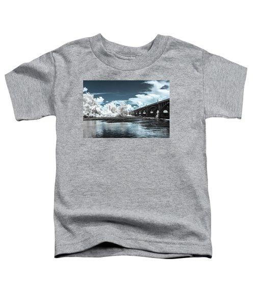 Gervais St. Bridge-infrared Toddler T-Shirt