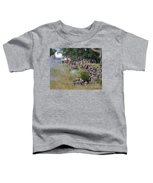Gettysburg Confederate Infantry 8825c Toddler T-Shirt