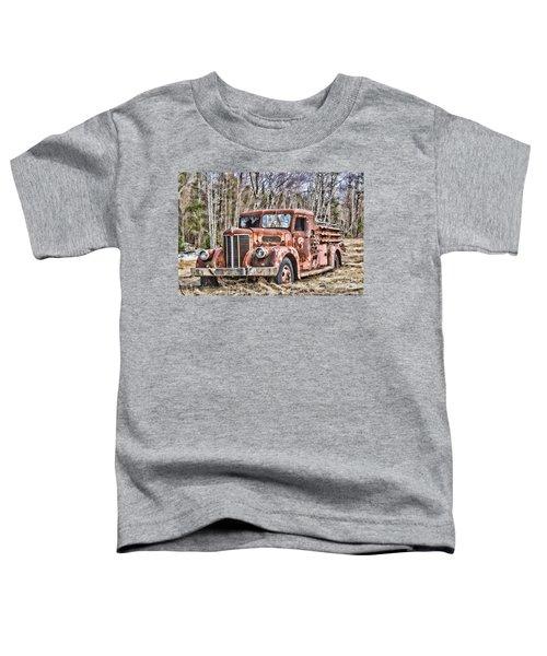 Ghost Fire Truck Toddler T-Shirt