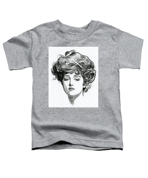 Gibson Girl Toddler T-Shirt