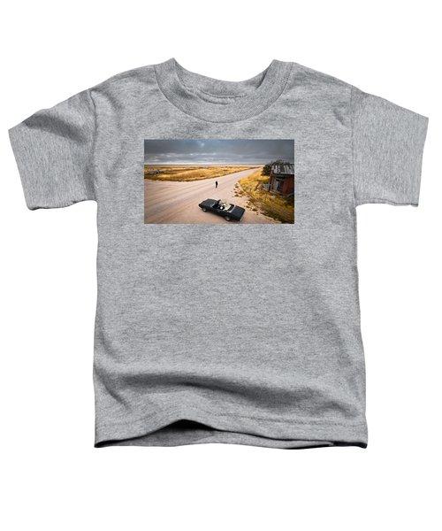 Girl Of The Golden West Toddler T-Shirt