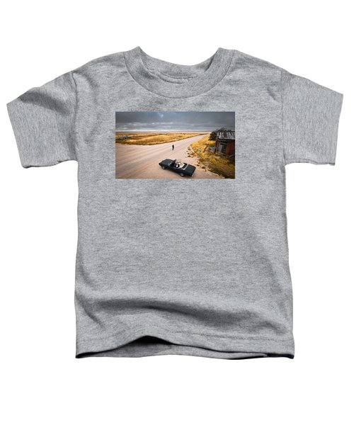 Toddler T-Shirt featuring the photograph Girl Of The Golden West by Carl Young