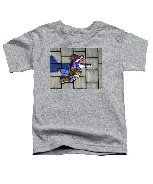 Girl Overhead Walking Toddler T-Shirt