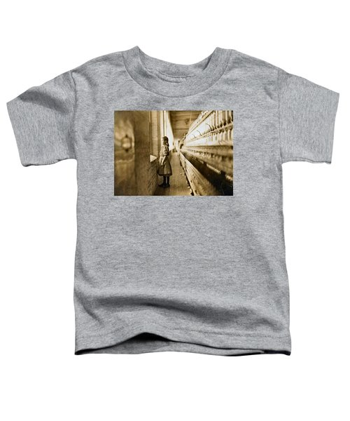 Girl Spinner 11 Years Old Rhodes Manufacturing Co Lincolnton 1908 Toddler T-Shirt