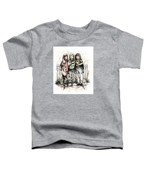 Girlfriends Toddler T-Shirt