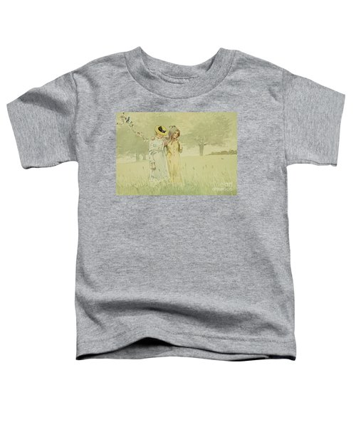 Girls Strolling In An Orchard Toddler T-Shirt