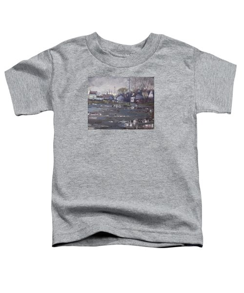 Gloomy And Rainy Day By Hyde Park Toddler T-Shirt