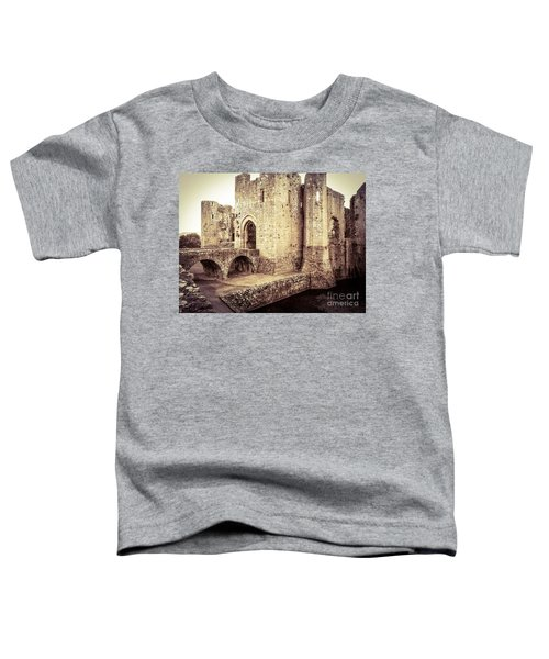 Glorious Raglan Castle Toddler T-Shirt
