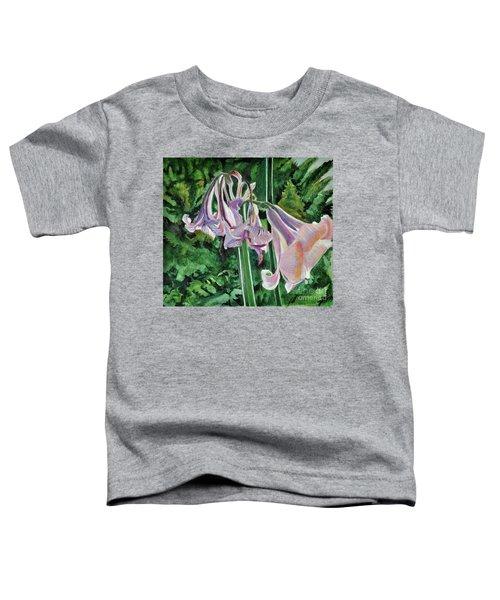 Glowing Amaryllis Toddler T-Shirt