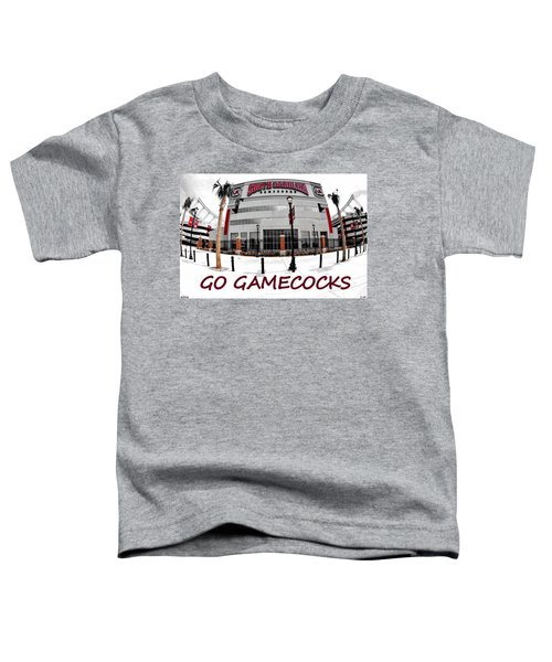 Go Gamecocks Toddler T-Shirt