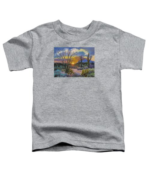 God's Day - Sonoran Desert Toddler T-Shirt