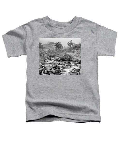 Gold Rush Mining Shack In The Alaskan Mountains Toddler T-Shirt