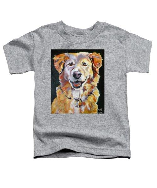 Golden Retriever Most Huggable Toddler T-Shirt