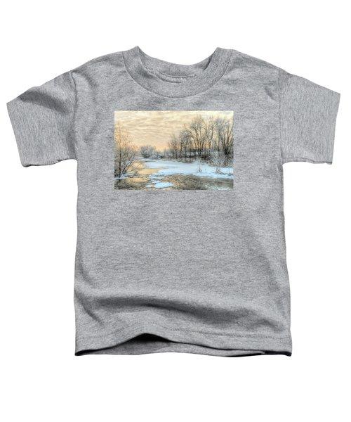 Golden Sunrise Signed Toddler T-Shirt