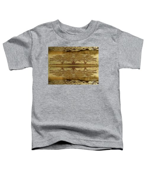 Golden Trees Reflection Toddler T-Shirt