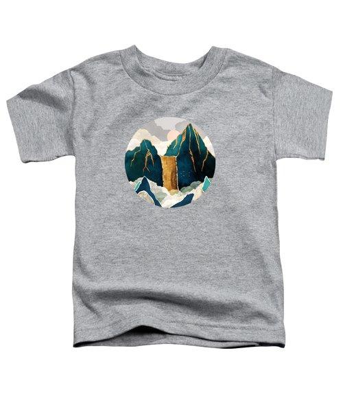 Golden Waterfall Toddler T-Shirt