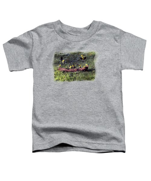 Goldfinch Convention Toddler T-Shirt by Nick Kloepping