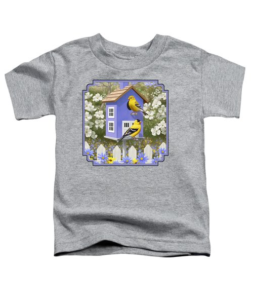 Goldfinch Garden Home Toddler T-Shirt