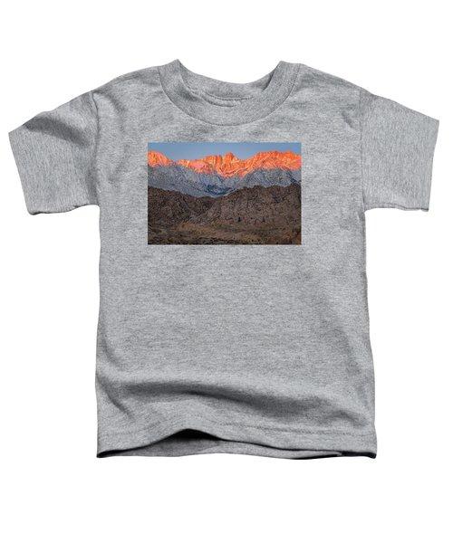 Good Morning Mount Whitney Toddler T-Shirt