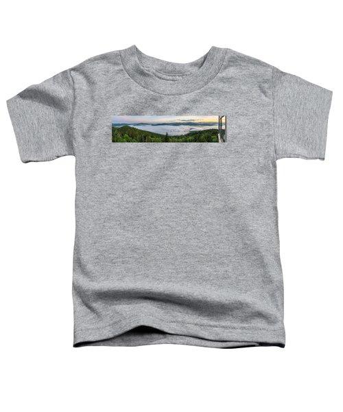 Goodnow Mountain Panorama Toddler T-Shirt