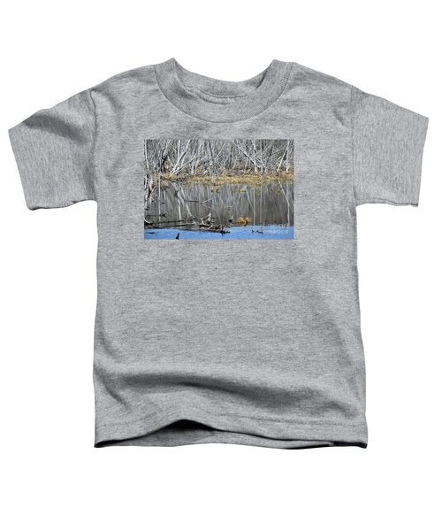 Goose Among The Reflections Toddler T-Shirt