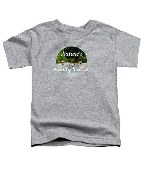 Goose Family Toddler T-Shirt