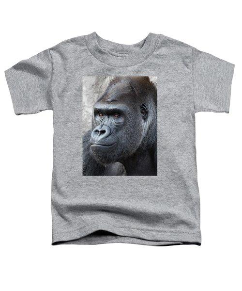 Gorillas In The Mist Toddler T-Shirt