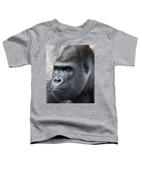 Gorillas In The Mist Toddler T-Shirt