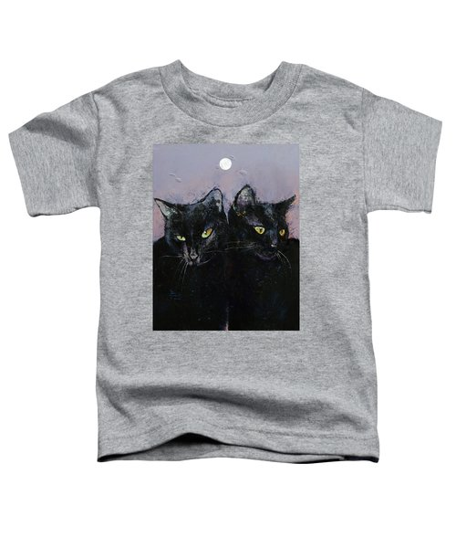 Gothic Cats Toddler T-Shirt