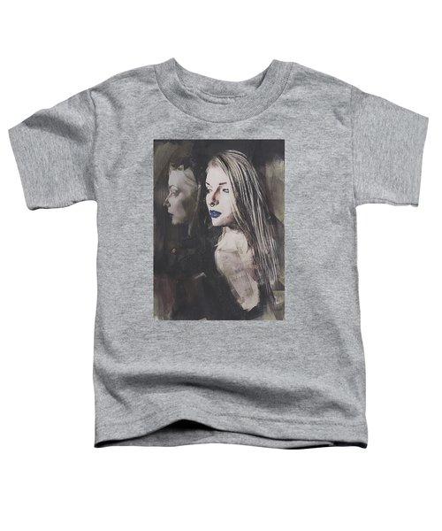 Gothic Mirror Echo Toddler T-Shirt