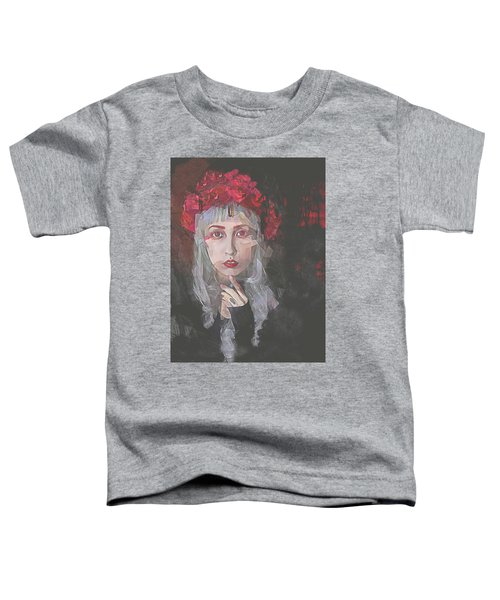 Gothic Petal Toddler T-Shirt