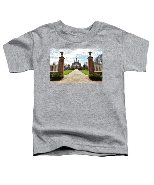 Governor's Palace In Williamsburg, Virginia Toddler T-Shirt
