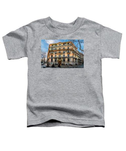 Gran Hotel Havana Toddler T-Shirt by Randy Scherkenbach