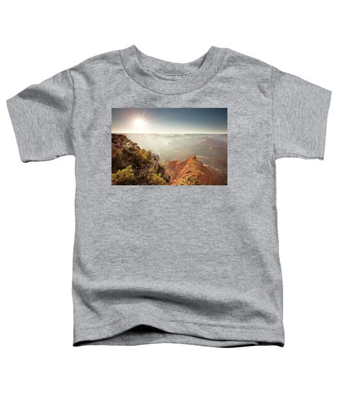 Toddler T-Shirt featuring the photograph Grand Canyon From Mohave Point by Whit Richardson