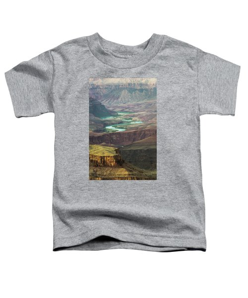 Toddler T-Shirt featuring the photograph Grand Canyon Grandview Point by Whit Richardson