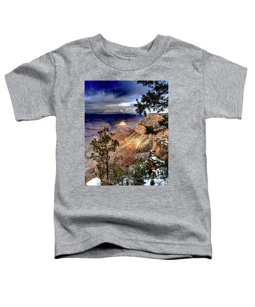Grand Canyon In Winter Toddler T-Shirt