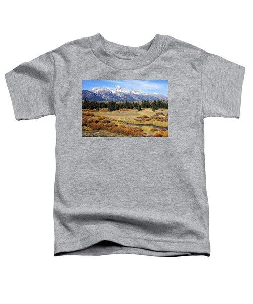 Grand Teton Toddler T-Shirt