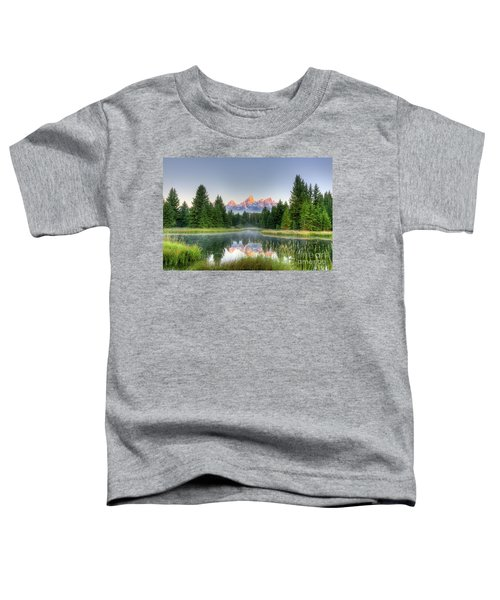 Grand Tetons Sunrise 2 Toddler T-Shirt