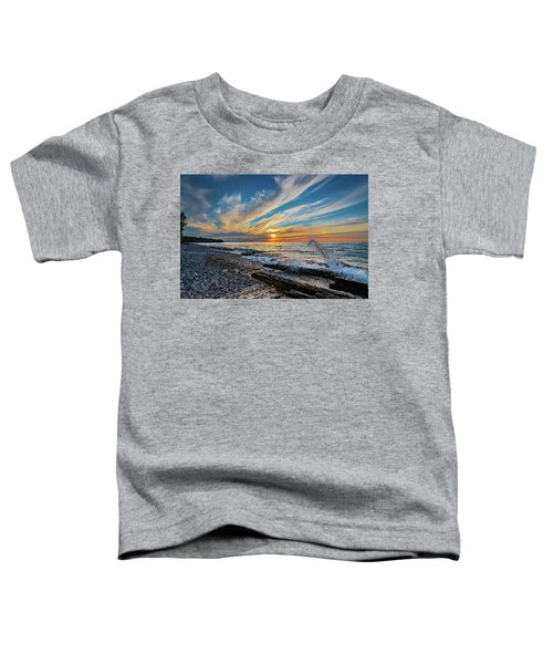 Graveyard Coast Sunset Toddler T-Shirt