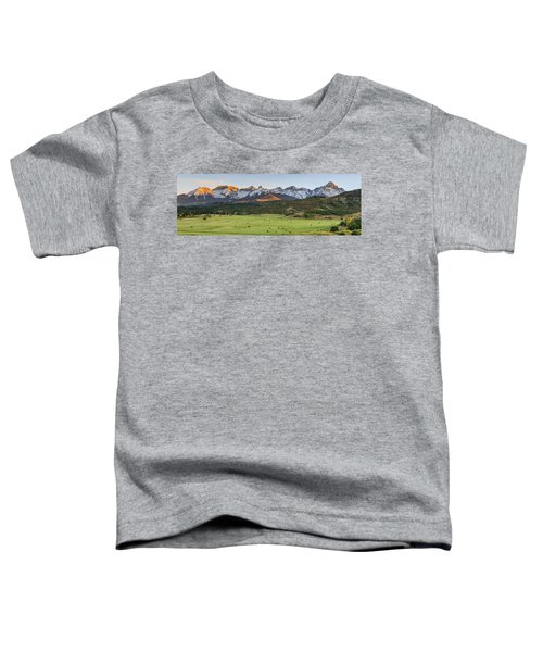 Grazing Under Sneffels Toddler T-Shirt