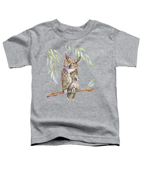 Great Horned Owl  Toddler T-Shirt