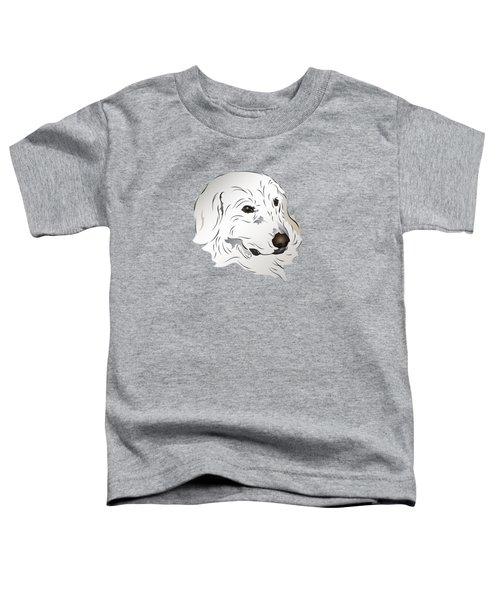Great Pyrenees Dog Toddler T-Shirt